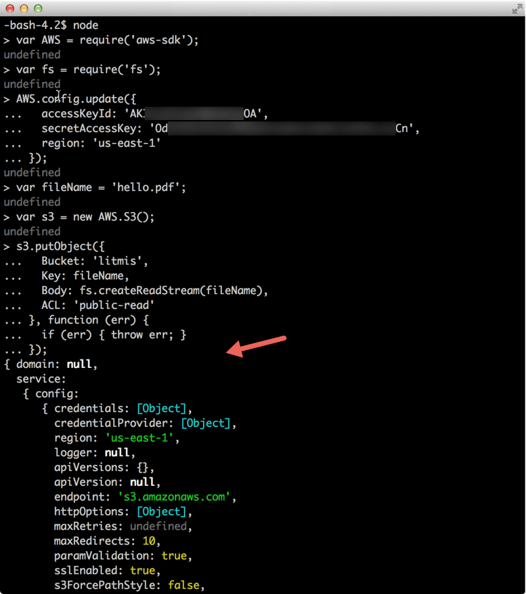You can paste the finished program into a node REPL session.