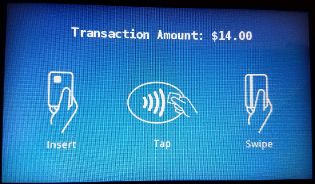 Payment prompt